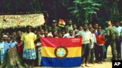 Apoiantes da FLEC, em Cabinda