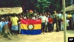 Apoiantes da FLEC, em Cabinda (Arquivo)
