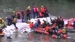 19 Killed Afer Taiwan Plane Crashes Into River