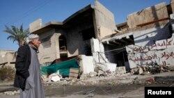 Distrik Risala, kawasan permukiman Shiah di Baghdad yang menjadi sasaran serangan bom (15/12) lalu (foto: dok).