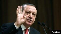 Shugaban Turkiya Tayyip Erdogan
