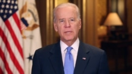 U.S. Vice President Joe Biden delivers weekly address, Mar. 29, 2014.