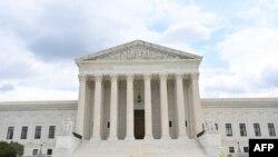 Здание Верховного суда в Вашингтоне, 1 июля 2021 года