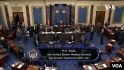 美國參議院批准《美墨加協定》