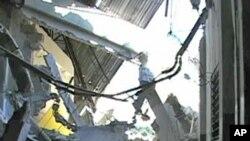 ہیٹی میں ملبہ گِرنے کا واقعہ: امدادی کارکنوں نے زندہ بچ جانے والوں کی تلاش شروع کردی