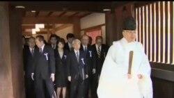 2013-04-23 美國之音視頻新聞: 168名日本議員週二參拜靖國神社