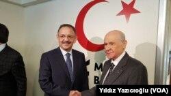 Devlet Bahceli Mehmet Ozhaseki
