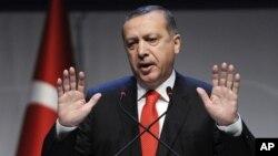 Turkiya Bosh vaziri Rajab Toyyib Erdog'an, 13-oktabr 2012