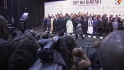 African Heads of State and Government at 25th AU Summit