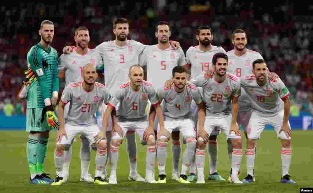 A Espanha foi eliminada pela Rússia nas grandes penalidades