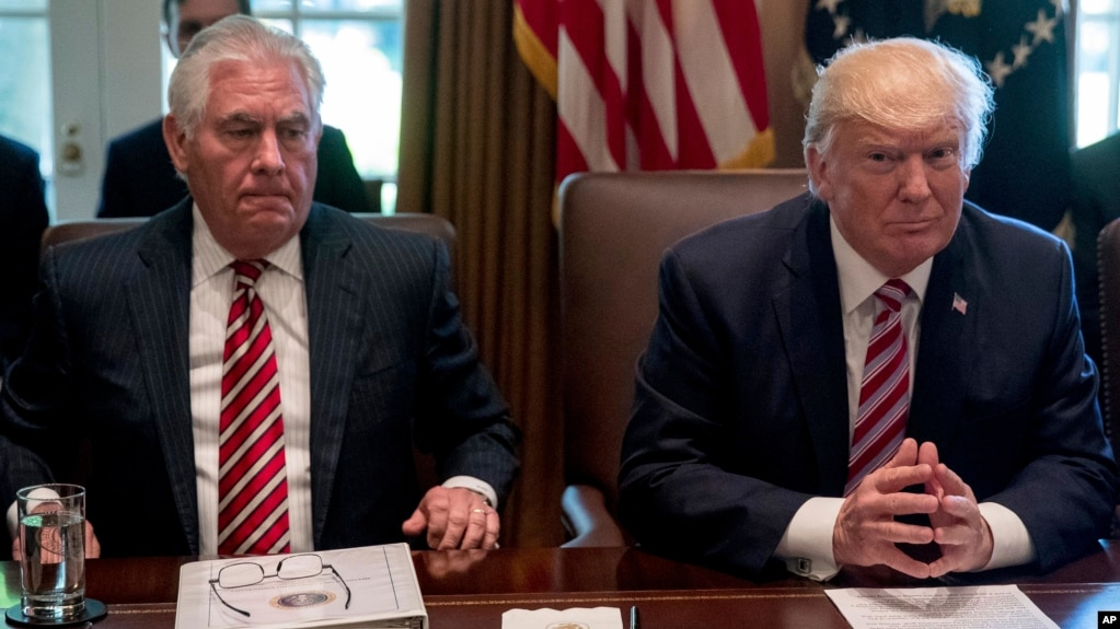 Trump Suggests He Would Beat Tillerson in IQ Test
