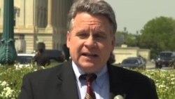 """美议员递送""""反性别屠杀呼吁书"""" 中国大使馆以闭门羹回绝"""