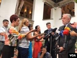 لوئیز مورنو اوکامپو دادستان پیشین دادگاه بین المللی لاهه