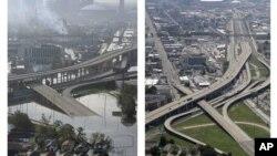 Nju Orleans - tokom i posle poplava