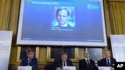 Người đoạt giải Nobel kinh tế 2014 là giáo sư Jean Tirole, 61 tuổi, và đang là giáo sư tại trường Đại học Tolouse 1, Pháp.
