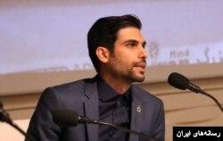 عکسی از سید سجاد شهیدیان که در برخی رسانههای ایران منتشر شده است.