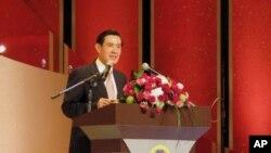 马英九总统在双十节庆典上讲话