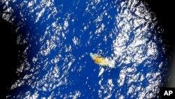 Satelitski snimak neidentifikovanog predmeta u Indijskom okeanu