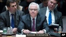 Embaixador russo junto das Nações Unidas Vitaly Churkin