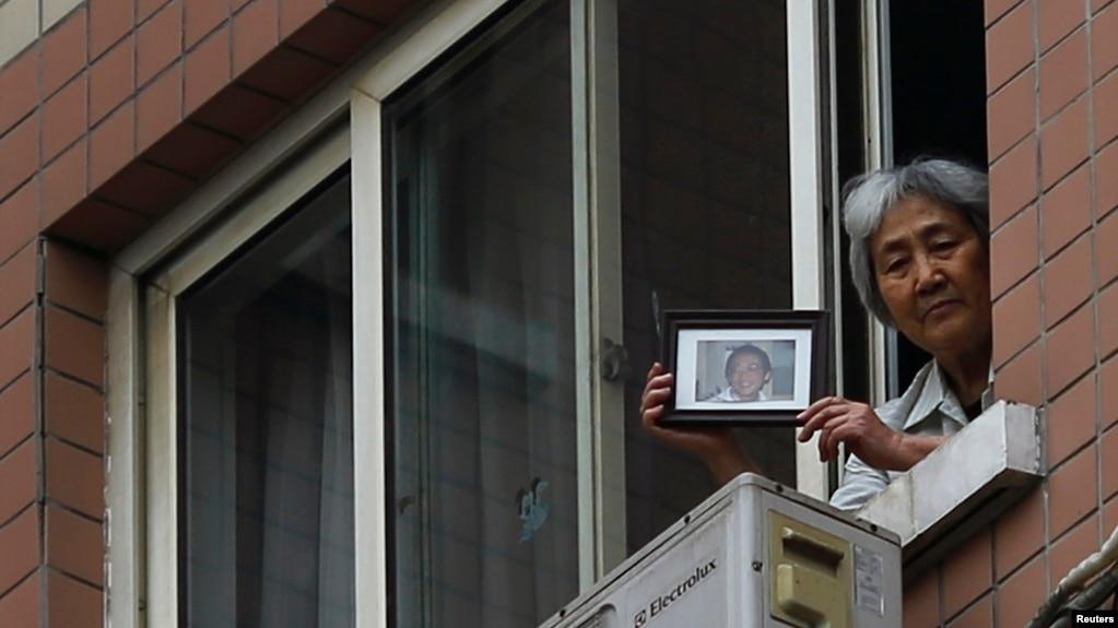 Mẹ của một trong những sinh viên bị giết trong sự kiện Thảm sát Thiên an môn năm 1989.