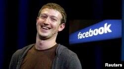 Sáng lập viên Facebook Mark Zuckerberg.