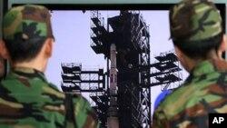 北韓發射基地。