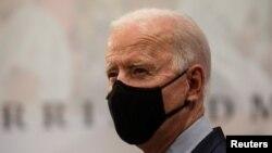 Umongameli Joe Biden.