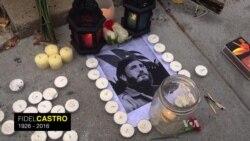 Homenagem a Fidel Castro na Embaixada de Cuba em Washington DC