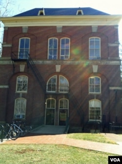 Brooks Hall- the anthropology department at UVA