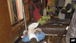 Des victimes, suite à un attentat dans le nord du Nigéria en début de semaine (AP)