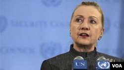 Menteri Luar Negeri Amerika Hillary Clinton (Foto: dok).