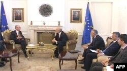 Rompuy në Kosovë, mbështetje e fortë për punën e EULEX-it