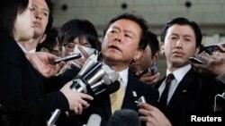 Thị trưởng Tokyo Naoki Inose, người đã giúp giành quyền tổ chức Thế vận hội 2022 cho thành phố này.