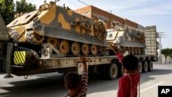 Türkiyənin Suriyaya hərbi müdaxiləsi ABŞ və Avropa tərəfindən də tənqidlərlə qarşılanır.