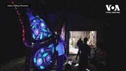 Український «Метелик» на фестивалі «Burning Man» у США. Відео