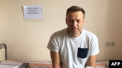 Aleksej Navalni u moskovskoj bolnici (Foto: Navalny.com)