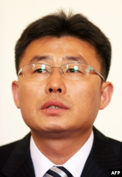 FILE - Ahn Myeong Chul, a prominent North Korean defector.