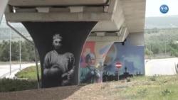 Sağlık Çalışanları Duvar Resimlerine Dönüştü