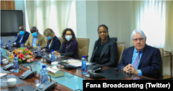 Martin Griffiths di Ethiopia (Twitter/Fana Broadcasting)