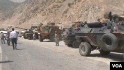 土耳其在庫爾德地區駐有重兵(資料圖片)