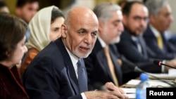 Prezident Ashraf G'ani Jeneva anjumanida