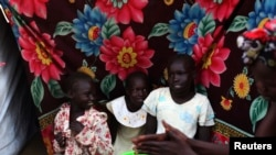 South Sudanese Displaced by Violence