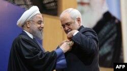حسن روحانی از کارکرد جواد ظریف تمجید کرد