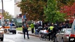 Правоохоронці на місці трагедії у Піттсбургу