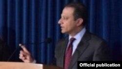 Preet Bharara, fiscal del Distrito Sur de Estados Unidos, anunció la acusación contra los policías hondureños.