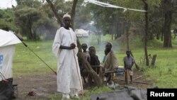 2일 수단과 남수단 국경지역의 난민들.