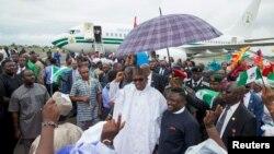 Le président nigérien Muhammadu Buhari à Calabar, Nigeria, 20 octobre 2015. (REUTERS/Stringer/Files)