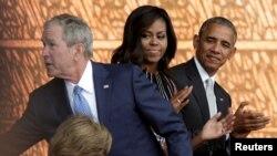 مراسم افتتاحیه موزه ملی آفریقایی تباران آمریکایی