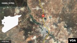 ဆီးရီးယားက သူပုန္တို႔ ထိန္းခ်ဳပ္ရာ Hama ျပည္နယ္