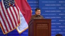 Wapres Jusuf Kalla Pidato di Columbia University, New York